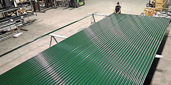 costruzione serrande industriali antivento