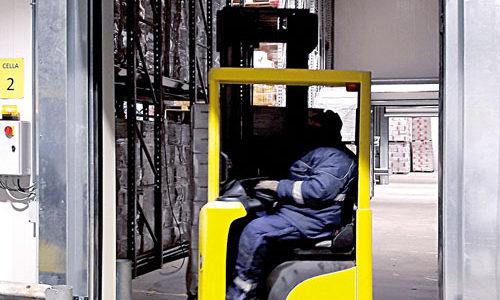 porte coibentate in funzione