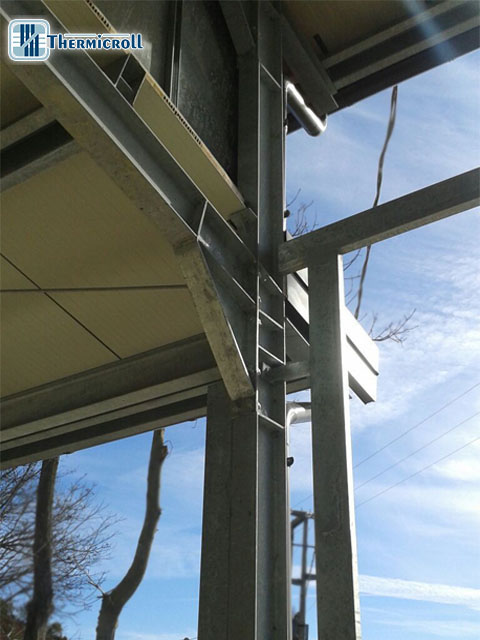 dislivello tetti per costruzione chiusure rapide personalizzate