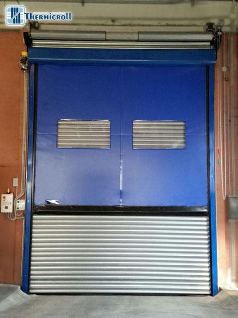 chiusure industriali e porte rapide avvolgibili komby per il settore metalmeccanico