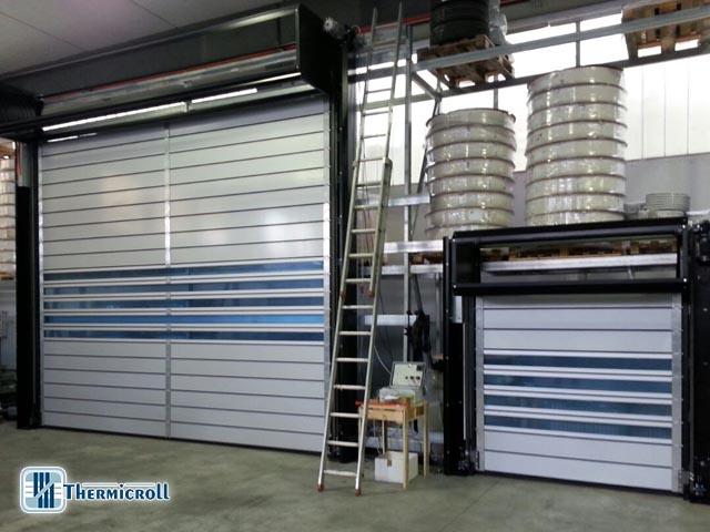test elettrici per chiusure industriali thermicroll