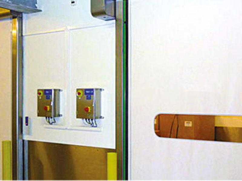 porta impacchettamento food inox