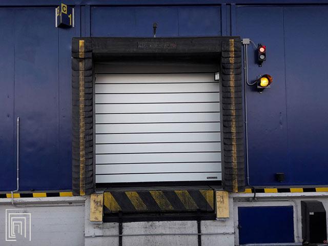 porte rapide baie di carico