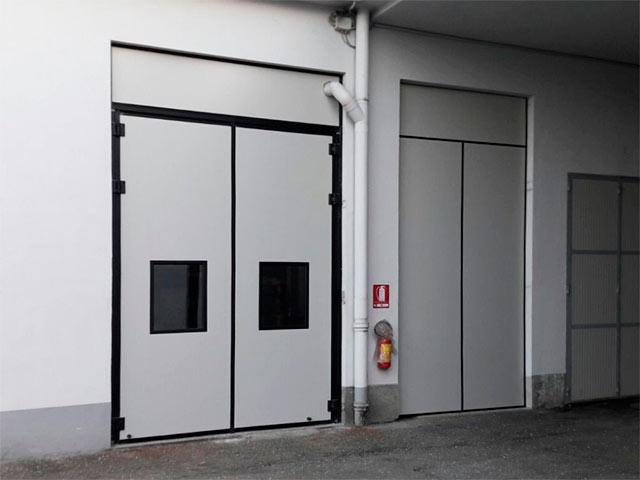 porta industriale a libro piemonte