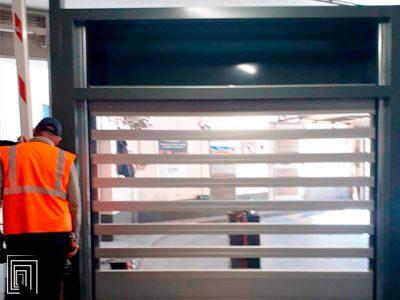 serrande antintrusione per parcheggi