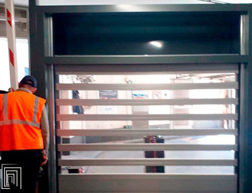 36 serrande antintrusione per parcheggi per una grande area parking