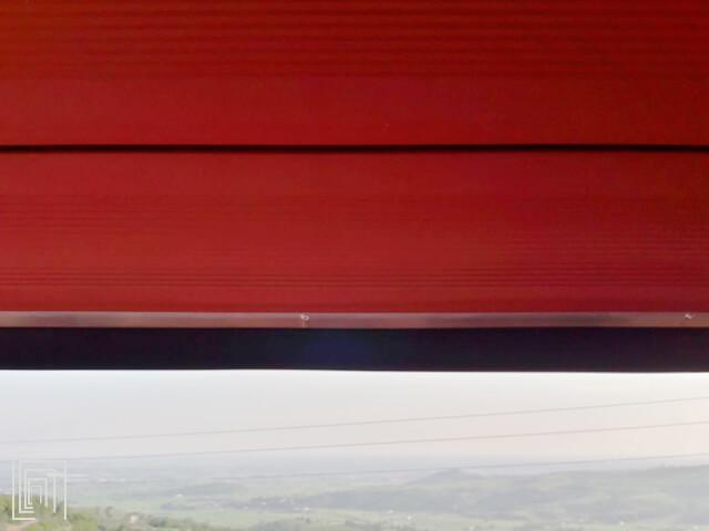 costa di sicurezza serranda avvolgibile balcone