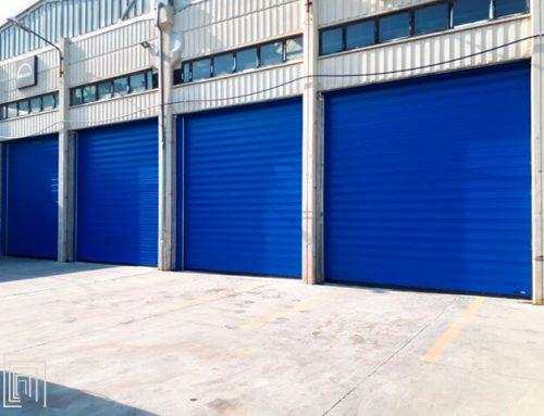 Porte rapide per officine: installazione in Liguria per Garbarino Paolo & C. Snc