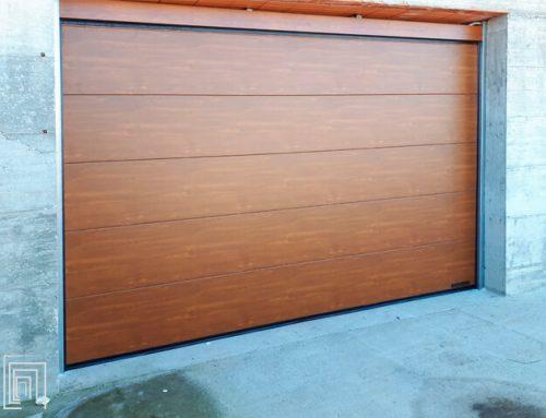 Porte sezionali ad Asti: nuova porta per garage firmata Thermicroll