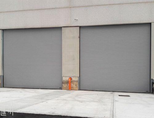 Serrande avvolgibili a Milano: nuova installazione in un capannone aziendale
