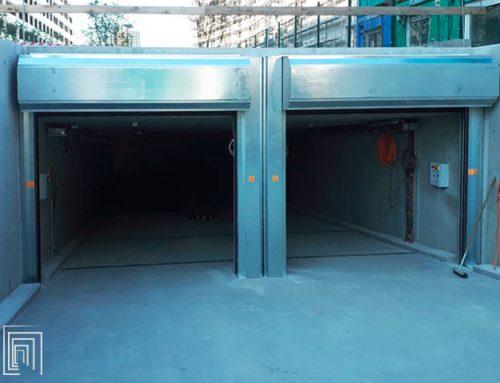 Serrande per garage: installazione per un complesso di lusso a Bratislava