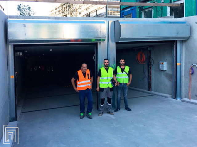 serrande per garage sotterraneo