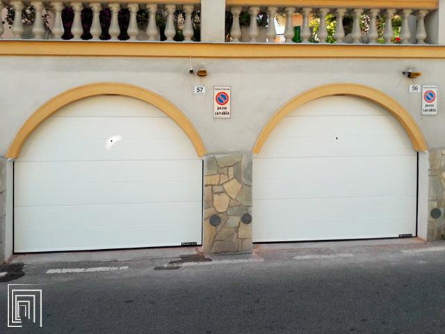 porte sezionali per garage a sanremo