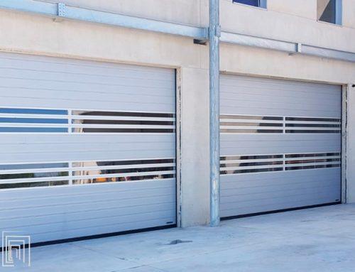 Serrande coibentate a Cuneo per magazzino logistico di Mina Carrelli