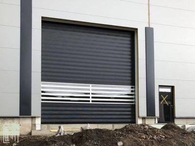 porte per capannoni industria automobilistica