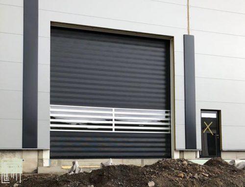 Porsche ha scelto le porte Thermicroll per il suo nuovo stabilimento in Germania