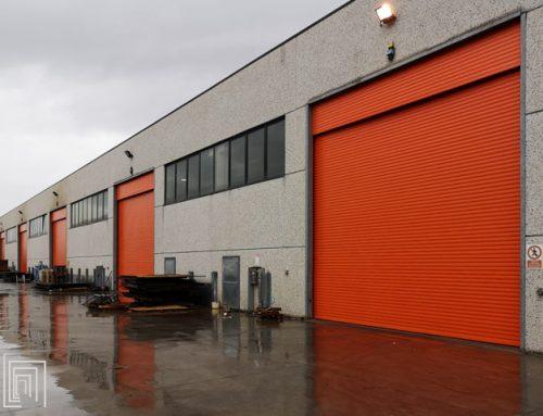Serrande industriali Thermicroll per il capannone di Siderflange