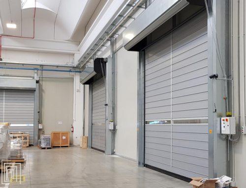 Porte avvolgibili per magazzini a Imola per Cefla