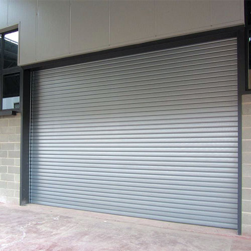 Puerta enrollable aislada industrial Thermicroll® Clássic