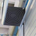 Spiral door iso 40 thermicroll con spirale in poliuretano per chiusure industiali resistenti