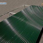 lavorazione del manto delle porte rapide industriali avvolgibili thermicroll