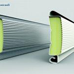 Riempimento in poliuretano delle porte rapide avvolgibili coibentate Thermicroll