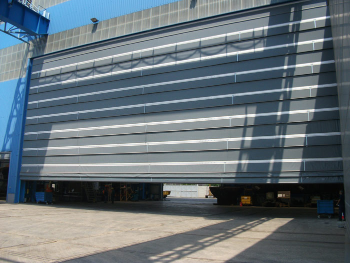 high speed pvc doors