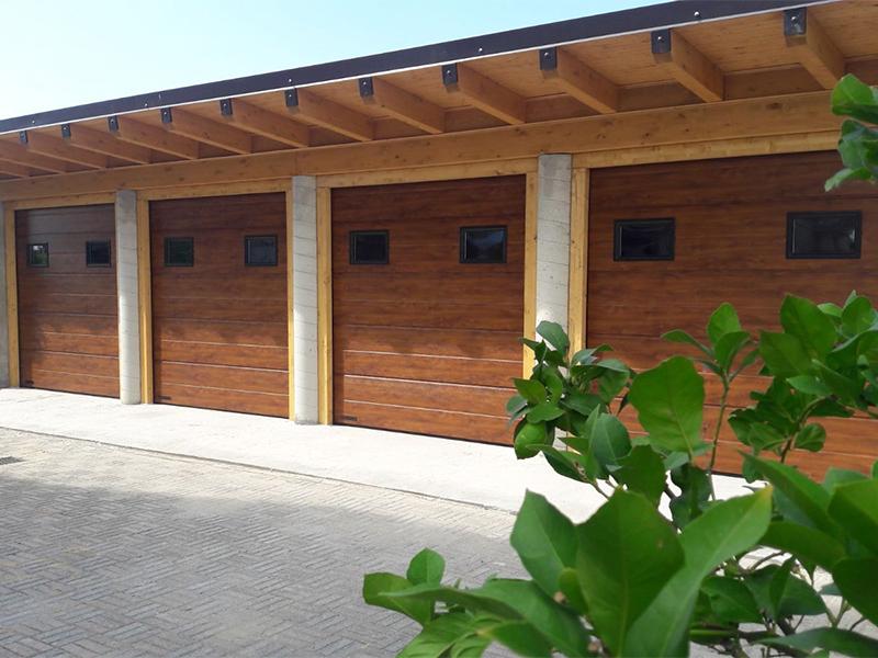 serrande per garage sezionali