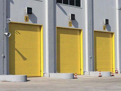 Chiusure industriali e porte rapide in pvc
