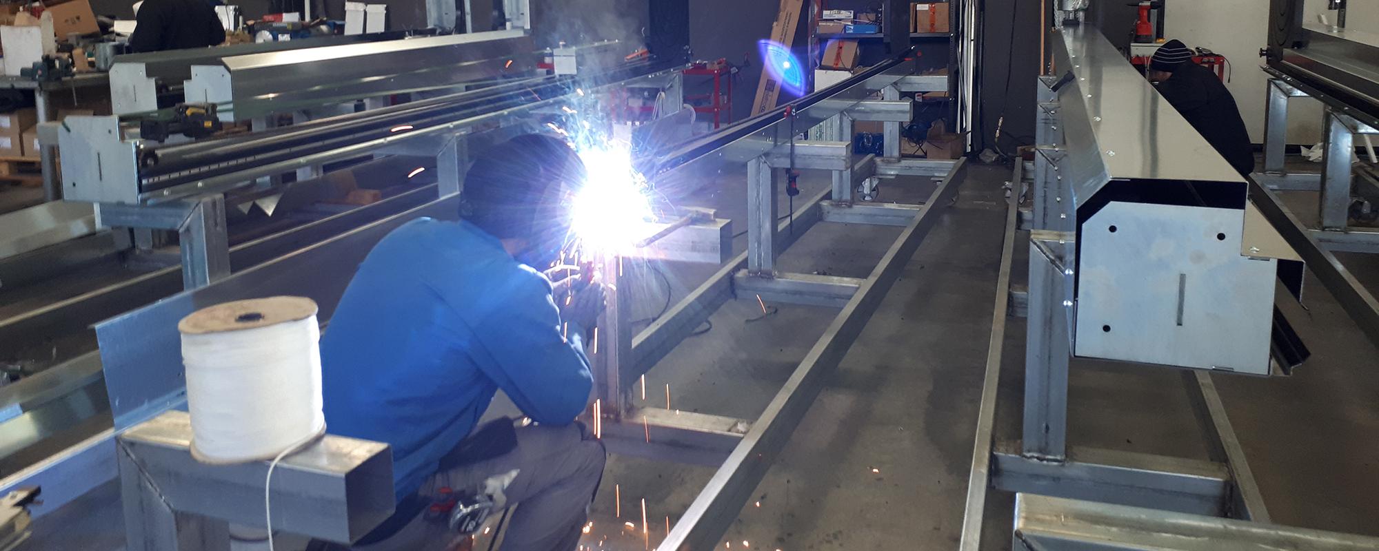 produzione porte rapide industriali