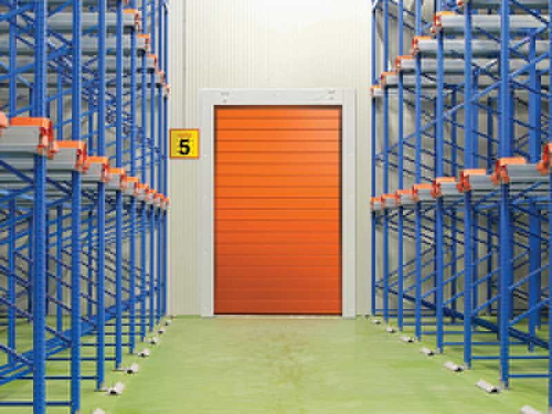 insulated industrial door spiral80