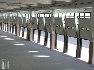porte sezionali per baie di carico