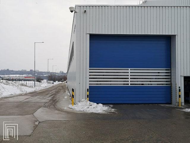 porte avvolgibili industriali spiral 50