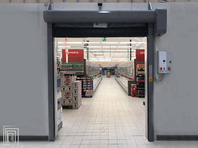 porta rapida supermercato sardegna