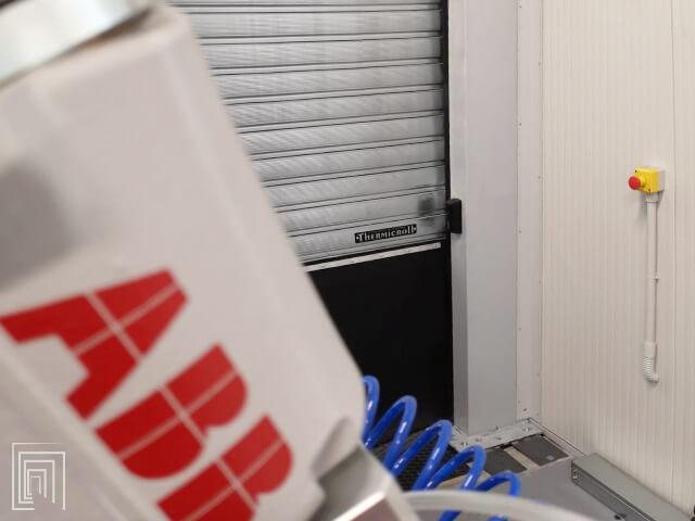 porta avvolgibile thermicroll dettaglio