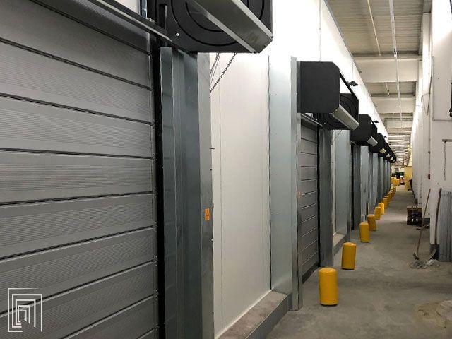 porte avvolgibili per magazzino aldi