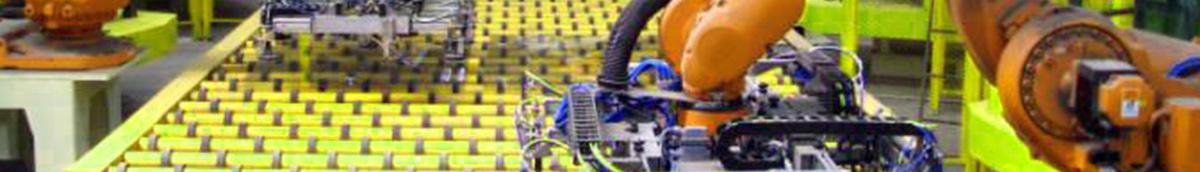 Porte per impianti di linee robotizzate