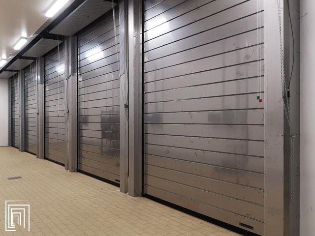 porte frigorifere verticali