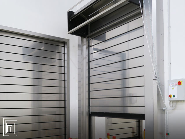 porte industria frigorifera