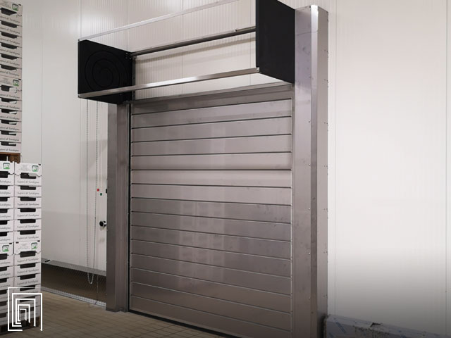 porte frigorifere per catena del freddo
